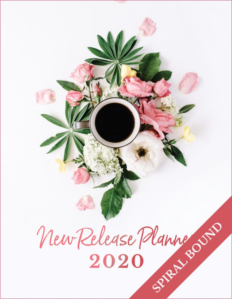 Love Kissed New Release Planner Author Planner 2020 - Coffee - Spiral Bound